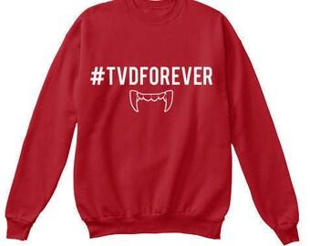 The Vampire Diaries: TVD FOREVER Sweatshirt