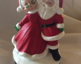 Vintage Santa And Mrs Santa Claus