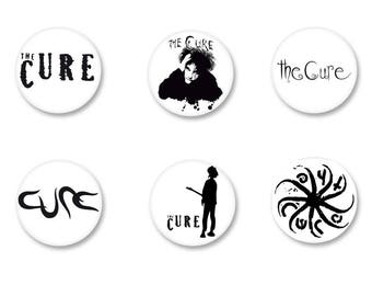 Lot Pins Ø25mm - o38mm Pinback Button Badge / Magnet o38mm The Cure