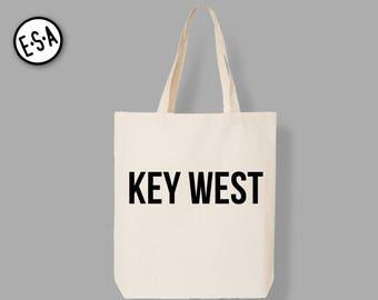 KEY WEST.  Market Tote.