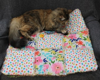 Pet Supplies, Cat Blanket, Dog Blanket, Pet Travel Blanket, Crate Mat, Cat Bed, Dog Bed, Pet Accessories, Handmade Pet Bedding, Pet Bedding