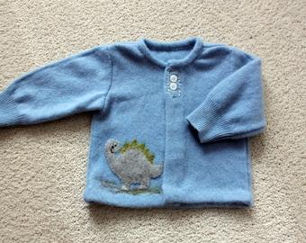 Infant Blue Cashmere  Sweater