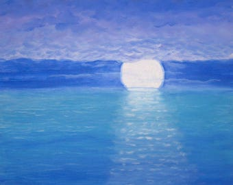 CALM BEFORE The STORM Original Acrylic Oceanscape Painting