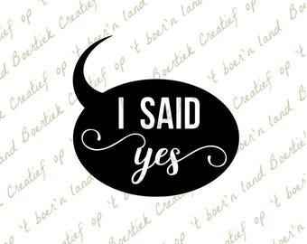 I said yes, cutting files, svg/studio/eps/jpg/pdf/png