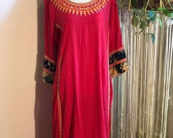 Vintage Indian Cotton Tunic