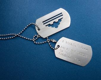 Mass Effect Garrus Vakarian Archangel custom tags elite military BioWare