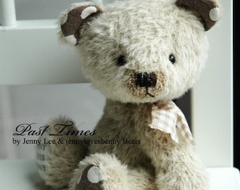 Pepper artist bear epattern by Jenny Lee of jennylovesbenny boutique bears PDF