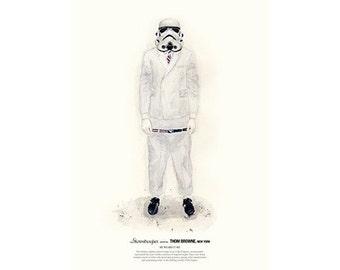 He Wears It 002 - Stormtrooper wears THOM BROWNE. New York
