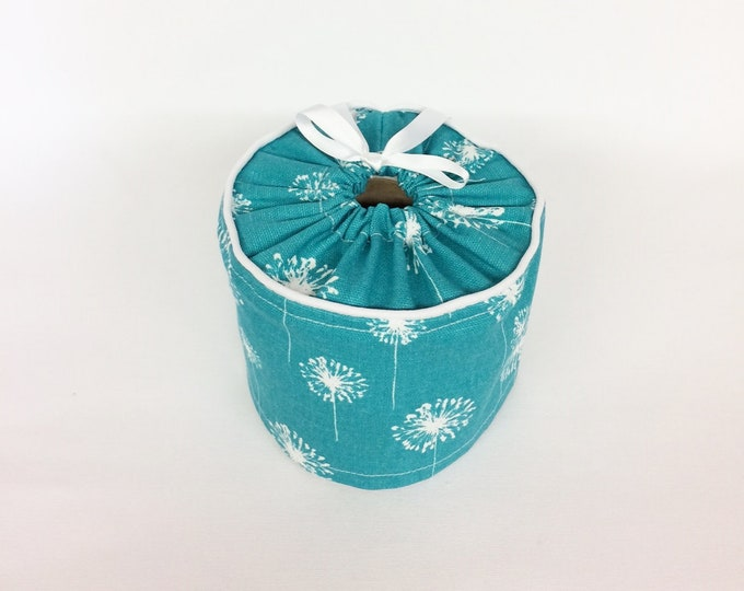 Farmhouse Bathroom, Toilet Roll Storage, Toilet Paper Cover, Farmhouse, Bathroom Decor, Toilet Paper Roll Cover, Turquoise,