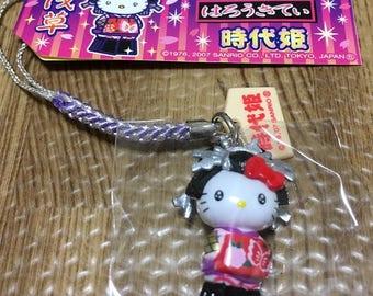 Sanrio Hello Kitty Key chain Tokyo Asakusa Jidaihime