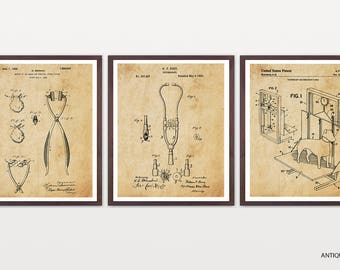 Veterinarian Patent Posters - Veterinarian Art - Vet Wall Art - Animal - Animal Art - Medicine - Vet Poster - Vet Office Art - Stethascope