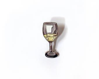 Pinot Grigio enamel pin