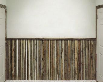 Barnwood Wainscoting Reclaimed Wood Wall Paneling.