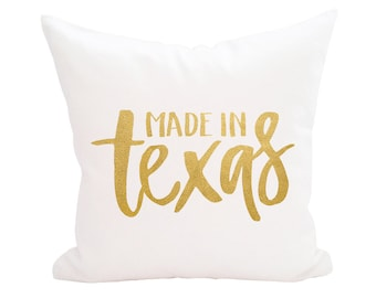 Personalized Pillow, Decorative Pillows, Throw Pillow, Home Decor, Custom Monogram Accent Pillow Cover, Farmhouse Wedding - Made in State