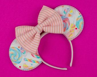 Candy Mouse Ear Headband