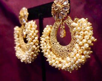 Indian Jewelry, Ethnic Earrings, Wedding Jewelry, Elegant Earrings by The Jhumka Company