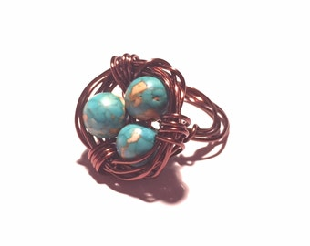 Bird's Nest- Ring