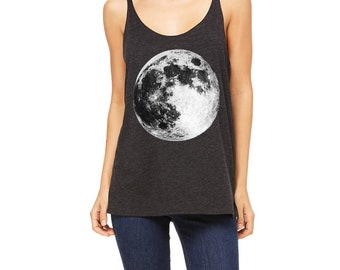 Slouchy Full Moon Tank Top