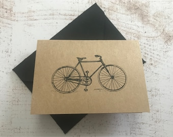 "Mini Bicycle Cards | Greeting Cards | 2.5""x3.5"" 
