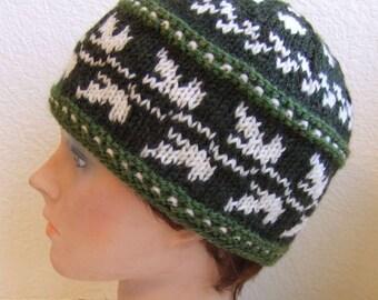 Lá Fhéile Pádraig or St Patricks Day Hat Pattern 2012