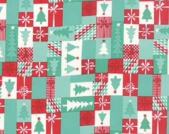 Jingle cotton patchwork fabric by Kate Spain for Moda fabric 27215 14