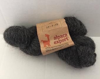 Alpaca Export Yarn - Gray