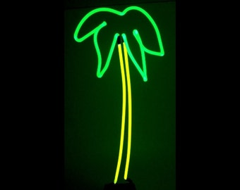 Cool Palm Tree Neon Art Sculpture FREE SHIPPING