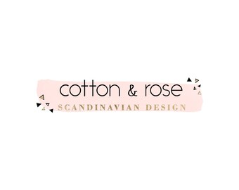 Premade logo, Watercolor logo, Blog logo, Blog header, Personalized Logo, Watercolor header, Custom Logo, Logo design, flower logo, floral