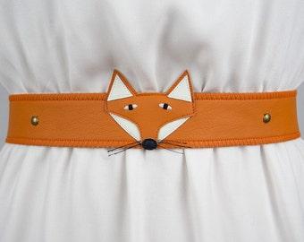 Fox Belt ~ Handmade ~ Only 1 Left!