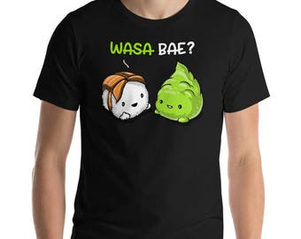 Sushi Shirt Couples Shirts Wasabi Boyfriend Gift Romantic Puns Wasa Bae Chinese Food Shirt Mens Shirts Husband Anniversary Valentines Day