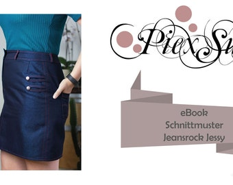 Sewing Pattern Skrit Jessy Size 32 - 52