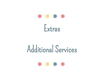 Label Cutting Service - Additional/Add-On Service - Extra Graphic Design Service