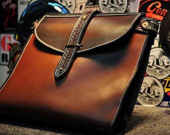 One-off Brief Bag - for when you are traveling light for business