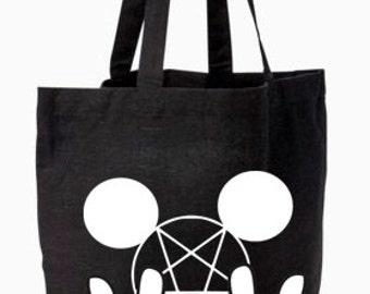 Metal Mouse Tote Bag