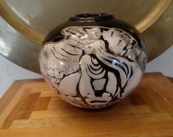 Exquisite Handmade Vessel From 1992