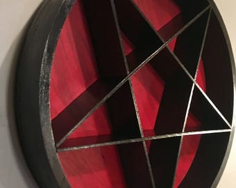 Black and Red Pentacle/Pentagram