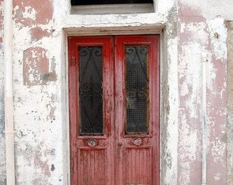 """Doors Photography """"Red Door #69, Venice, Italy"""""""