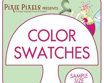 COLOR SWATCHES (pixiepixels color palette) Entire Palette as a 5x5