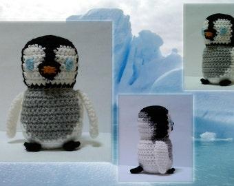 Baby Penguin Crochet Pattern - PDF Crochet Pattern