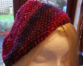 Ladies multi coloured  beret