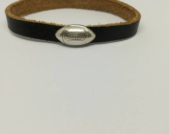 Leather Bracelet genuine rugby