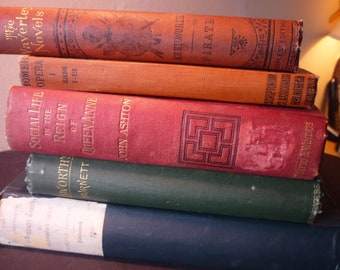Antique Books - 3 Month Book of the Month Club Subscription Box -  for Readers, Birthdays, Get Well - Free US Shipping - 100 year old books