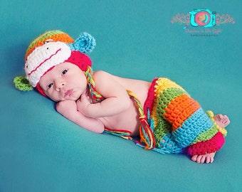 Rainbow Sock Monkey Set