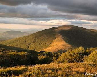 Roan Highlands Sunset - Hump Mountain - North Carolina - Appalachian Trail - Pisgah National Forest - Landscape Photography