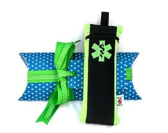 Gift Wrap Pillow Envelope with Grosgrain Ribbon by Alert Wear / Love Bugs Co.