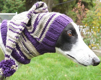 Greyhound & Galgo Pixie Hat - Made to Order