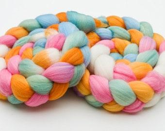 Colorway Recipe: Spring Fling for dyeing on wool yarn.