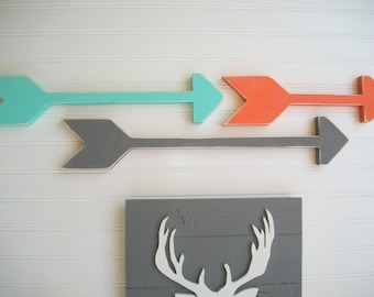 Wooden Arrows . Set of Arrows . Modern Nursery . Tribal Nursery . Boho Baby . Arrow . Boho Arrow