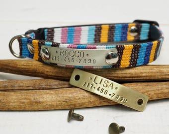 Cat Collar, cat collar breakaway, personalized cat collar, pet collar, small dog collar, breakaway collar, personalized collar.