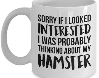 Hamster Mug, Hamster Gift, Hamster Lover, Hamster Mom, Funny Hamster, Hamster, Hamster Present, Hamster Cup